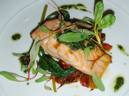Salmon at Fifteen London, MyLastBite.com
