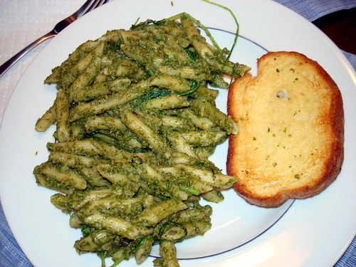 arugula pesto - blah  6-20-2009 8-12-07 PM 6-20-2009 8-12-07 PM