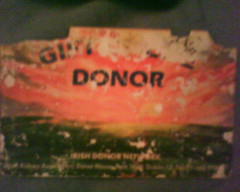 Organd Donor Card (Battered)
