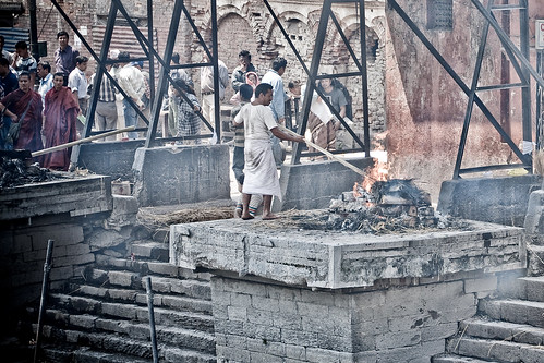 Cremación en Kathmandu