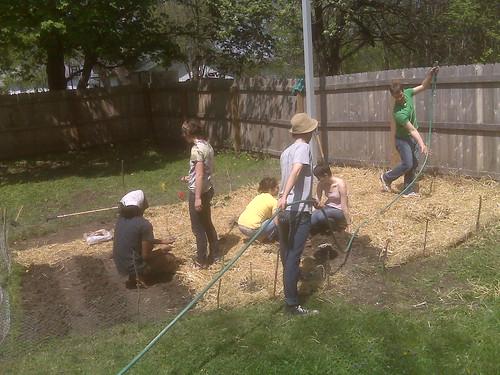 Mulching watering