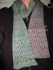 Finished Thistle Mist Scarf 2