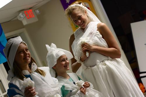 stairstep brides