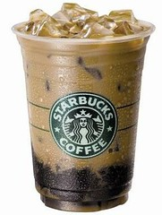 Iced Vanilla Dark Roast Coffee Jelly Caffe Latte