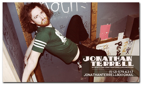 Business Cards for Jonathan Terrell