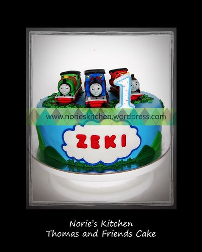 Norie's Kitchen - Thomas and Friends Cake