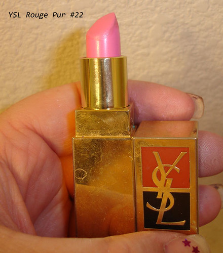 YSL Rouge Pur Lipstick #22