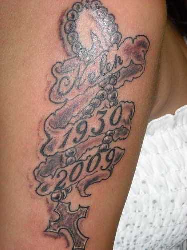 Rosary Tattoos on Arms
