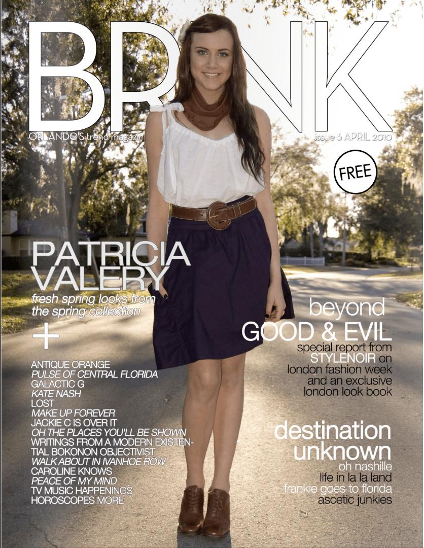 Brink Magazine Cover