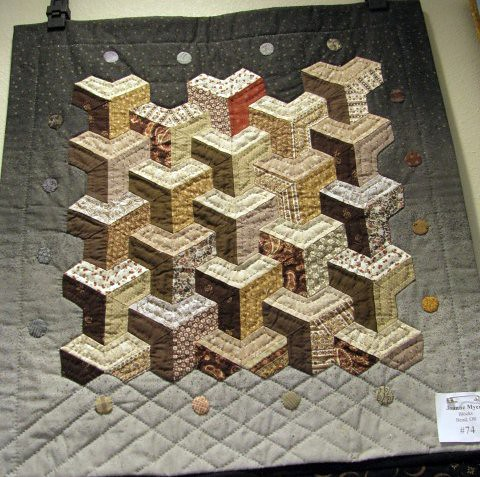 1st Annual Small Wonders Quilt Challenge #74 Blocks