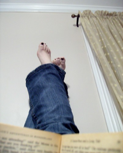 My new favorite way to sit and read.