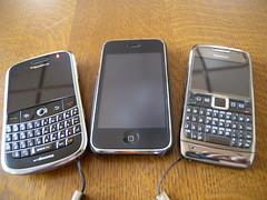 BBB, iPhone & Nokia E71
