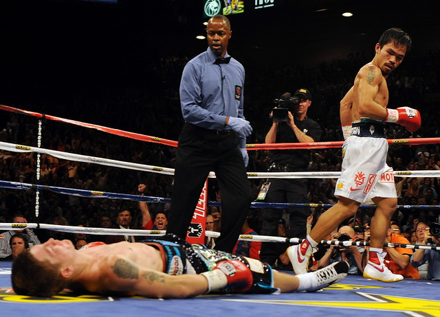 Manny Pacquiao knock out Ricky Hatton