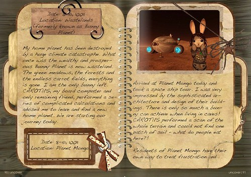 Travel Book of a Bunny