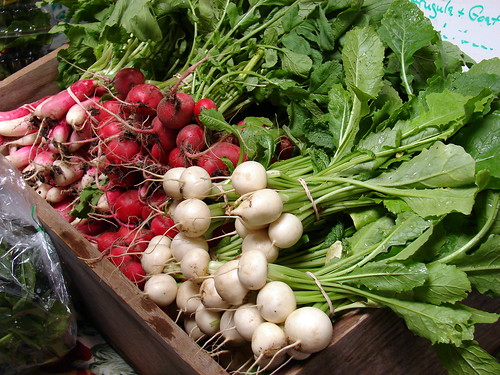 NorthStar Farm radishes