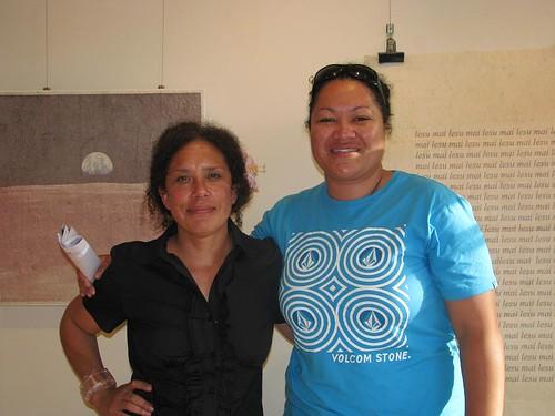 Artists Filani Filina Macassey & Margaret Aull
