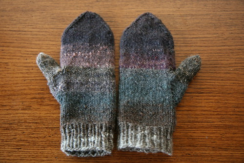 My fugly mittens by you.