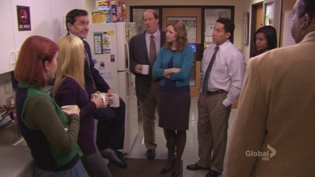 Michael explicando sua experiência sobre a demissão