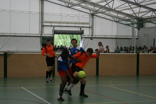 Indoor Football Men's 1sts 09/05/09 Photo: Shaun Morton