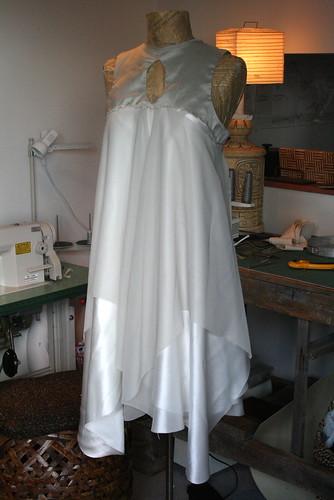 MMVA's dress in progress
