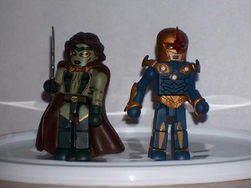 Gamora and Nova