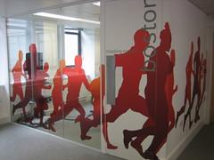 Virgin Money Giving's office