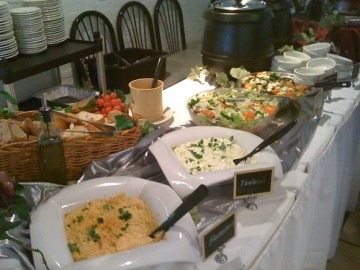 Sunday Brunch Buffet at Anna's - Salads and Soups
