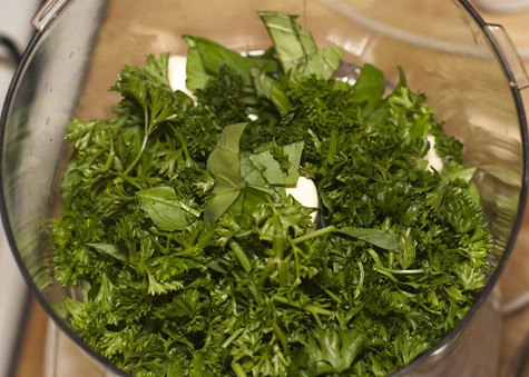 Parsley and Basil