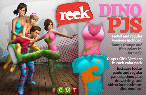 Reek - Dino PJs