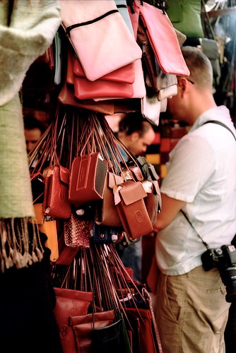 leather market