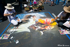 The Italian Street Painting Festival 2009