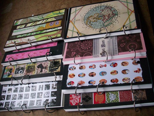 Recycled stuff notebooks