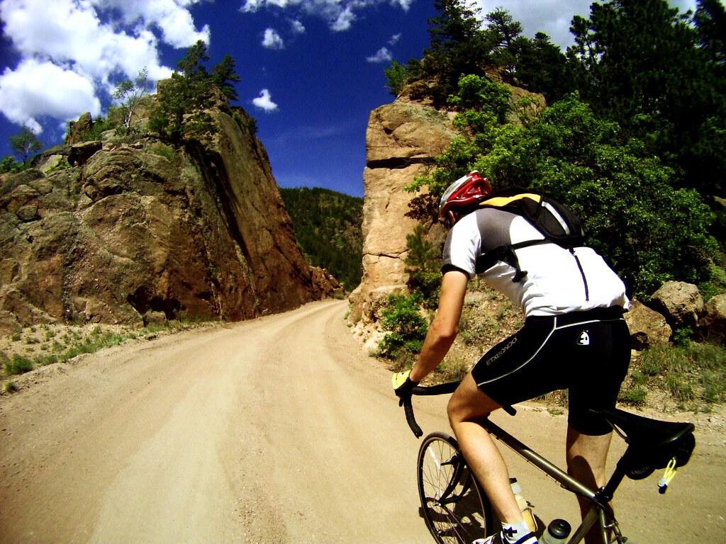 ryan heading up phantom canyon