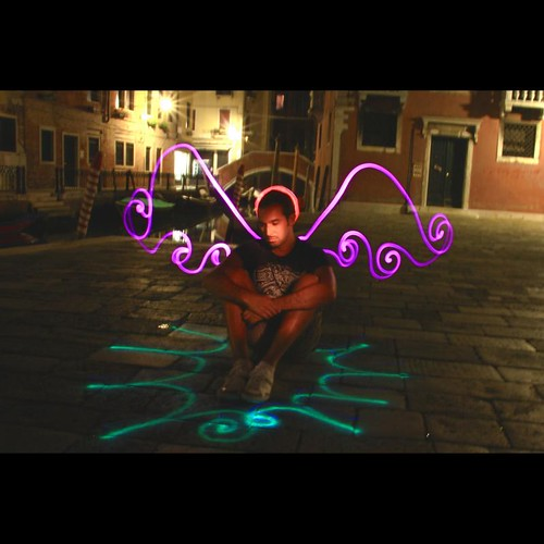 the light angel in Venice