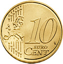 10 céntimos cara común
