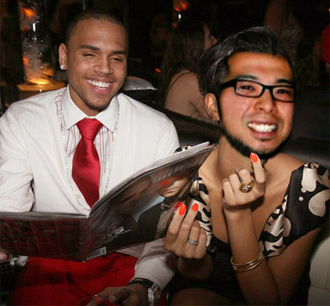 me and chris brown
