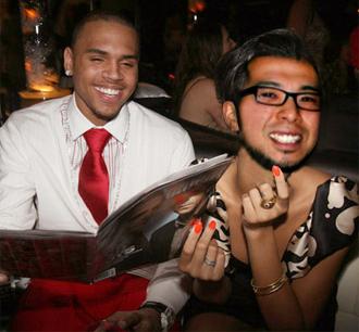 me and chris brown