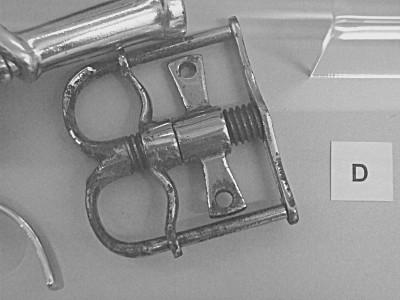 a thumbcuff - not a thumbscrew