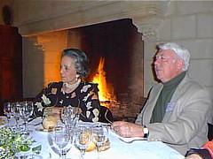 Mort Walker in una foto di Gianfranco Goria - Angouleme 1998