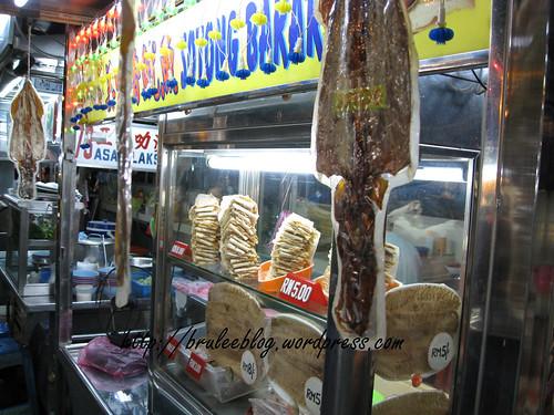 Gurney Drive Hawker Centre - dried squid