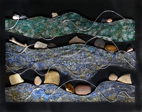 river rocks #1 (c) Lynne Medsker