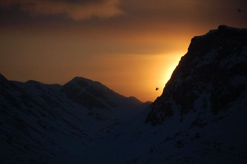 This was the view from my window in Sisimiut. By sunrise.