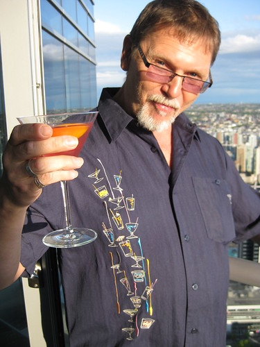 Russ raises a toast