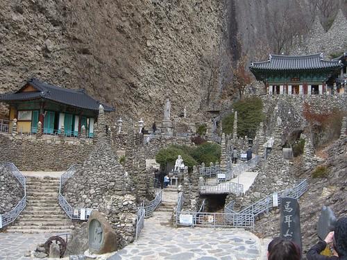 The Tapsa temple complex