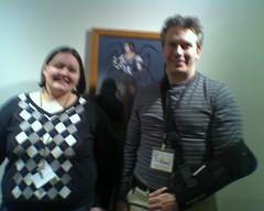 Me with Tom Richmond