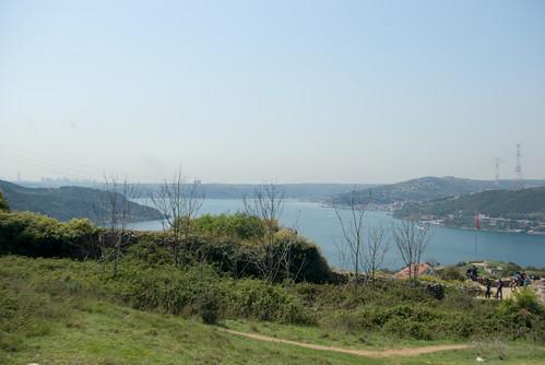 Bosphorus  scene from Anadolu Kavağı, İstanbul, Pentax K10d
