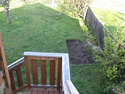 This is not a raised bed.
