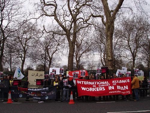 Journée de solidarité en Grande-Bretagne, 6 mars 2008