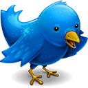 Twitter, new logo twitter, twitter logo, twitter emblem, blue twitter bird,