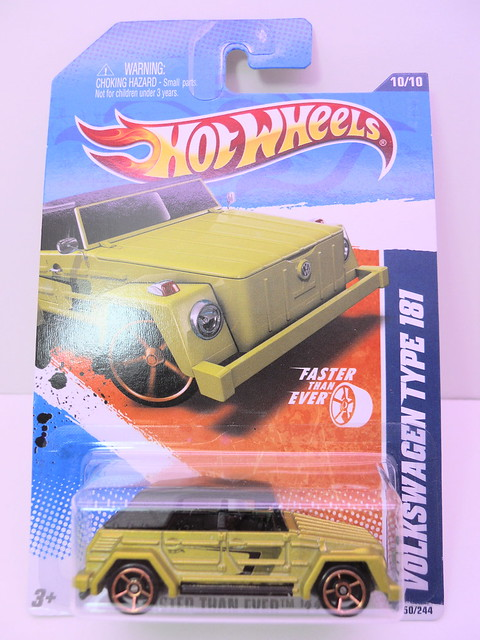 hot wheels volkswagen type 181 (1)